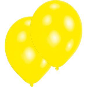 Luftballons Ø 27,5 cm 10 Stück gelb