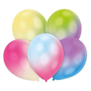 "LED Ballons ""Ballominate B90"" 5 Stück bunt"