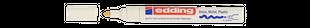 EDDING Lackmarker 750 Rundspitze 2-4 mm weiß