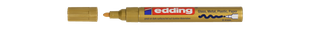 EDDING Lackmarker 750 Rundspitze 2-4 mm gold