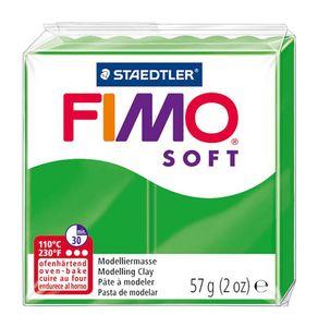 STAEDTLER Fimo Soft Einzelblock ofenhärtend tropischgrün