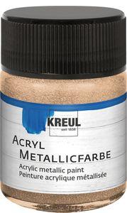 KREUL Acryl Metallicfarbe champagner 50 ml