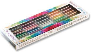 FOLIA Glitter-Set 30 Teile mehrere Farben