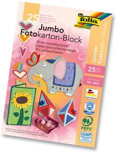 """FOLIA Fotokarton """"Jumbo"""" 24 x 34 cm"""