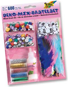 FOLIA Deko-Mix-Bastelset 600 Teile