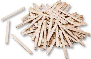 FOLIA Holzstäbchen 500 Stück natur