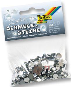 """FOLIA Schmucksteine """"Crystal"""" 550 Teile"""