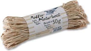 FOLIA Raffia-Naturbast 50 g natur