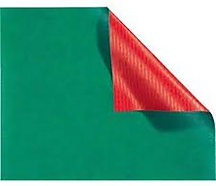 FOLIA Geschenkpapier 70 x 200 cm rot-grün