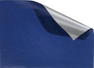 FOLIA Geschenkpapier 70 x 200 cm blau-silber