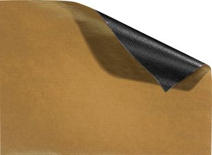 FOLIA Geschenkpapier 70 x 200 cm gold-schwarz