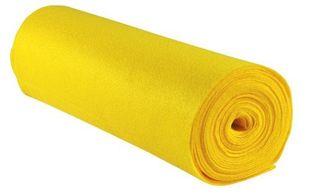 Bastelfilz 45 cm x 5 m bananengelb