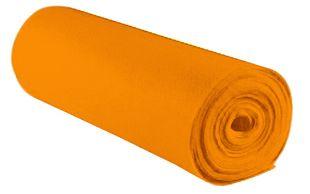 Bastelfilz 45 cm x 5 m orange