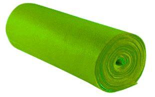 Bastelfilz 45 cm x 5 m hellgrün