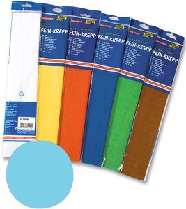 FOLIA Fein-Krepp 50 x 250 cm lichtblau