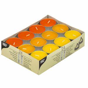 PAPSTAR Teelichter 24 Stück orange