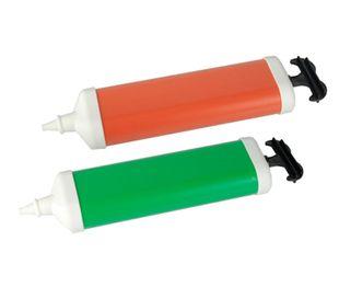 PAPSTAR Pumpe für Luftballons verschiedene Farben