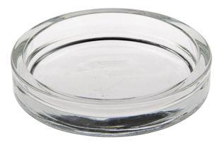 PAPSTAR Kerzenhalter aus Glas Ø 10 cm
