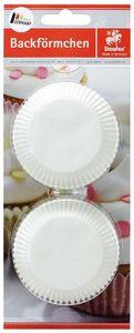 STAUFEN Muffinbackformen Ø 5 cm 100 Stück weiß