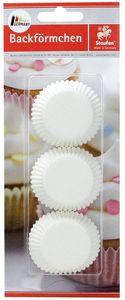 STAUFEN Muffinbackformen Ø 3,5 cm 75 Stück weiß