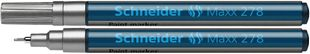 """SCHNEIDER Lackmarker """"Maxx 278"""" 0,8 mm silber"""
