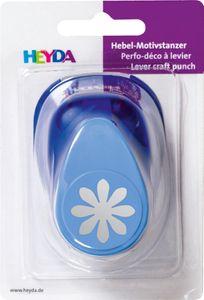 """HEYDA Motivstanzer """"Blume"""" 25 x 25 mm"""