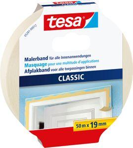TESA Malerkrepp 50 m x 19 mm beige