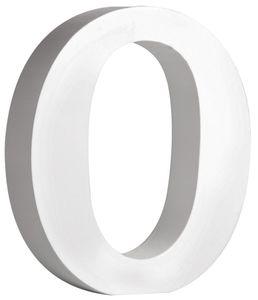 """RAYHER MDF-Buchstabe """"O"""" 11 cm weiss"""