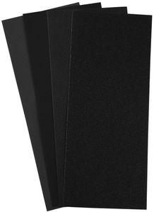 RAYHER Schleifpapier-Set 5 Teile schwarz