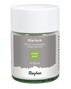 RAYHER Klarlack lebensmittelecht 50 ml transparent