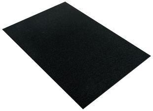 RAYHER Textilfilz 30 x 45 cm schwarz