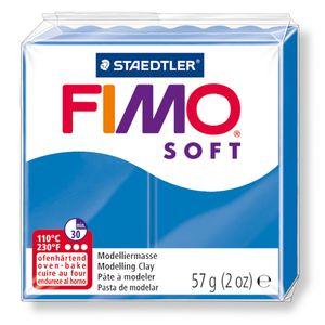 STAEDTLER Fimo Soft Einzelblock ofenhärtend pazifikblau