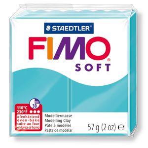 STAEDTLER Fimo Soft Einzelblock ofenhärtend pfefferminz