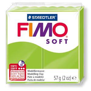STAEDTLER Fimo Soft Einzelblock ofenhärtend apfelgrün