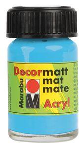 """MARABU Acrylfarbe """"Decormatt Acryl"""" 15 ml hellblau"""
