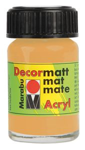 "MARABU Acrylfarbe ""Decormatt Acryl"" 15 ml gold metallic"