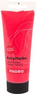 PAGRO Acryl-Farbe 100 ml kirschrot