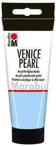 "MARABU Acryl-Perlglanzfarbe ""Venice Pearl"" 100 ml perlmutt-blau"