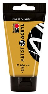 "MARABU Acrylfarbe ""Artist"" 75 ml gold"