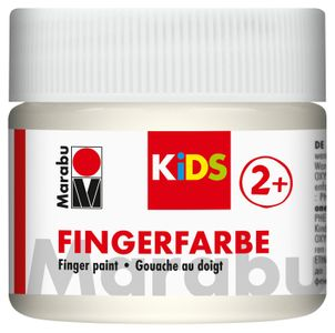 MARABU Kids Fingerfarbe 100 ml weiß