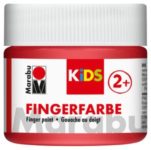 MARABU Kids Fingerfarbe 100 ml rot