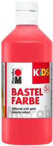 MARABU Kids Bastelfarbe 500 ml rot