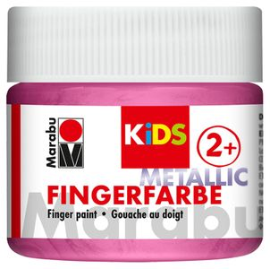 MARABU Kids Fingerfarbe 100 ml metallic-rosa