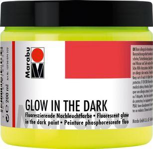 "MARABU Nachtleuchtfarbe ""Glow in the dark"" 200 ml gelb"