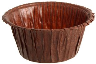 FACKELMANN Muffinbackformen 30 Stück braun