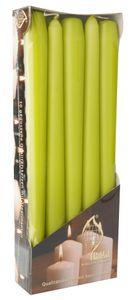 Leuchterkerzen Ø 2 cm H: 25 cm 10 Stück grün