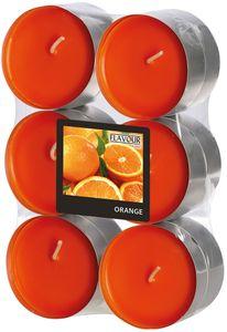 """Duftlichter """"Orange"""" Ø 5,8 cm 12 Stück orange"""