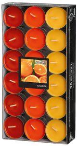 """Duftlichter """"Orange"""" Ø 3,8 cm 36 Stück mehrere Farben"""