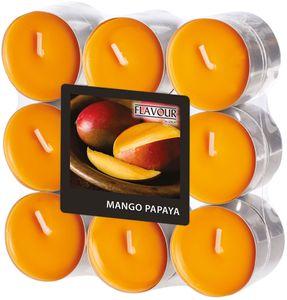 """Duftlichter """"Mango-Papaya"""" Ø 3,8 cm 18 Stück orange"""