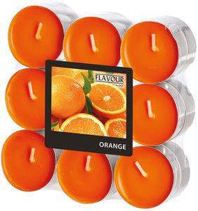 """Duftlichter """"Orange"""" Ø 3,8 cm 18 Stück orange"""